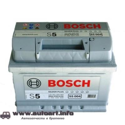 Аккумулятор BOSCH S5 61Ah 600A 242x175x175 (-+)