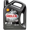 Масло моторное Shell Helix Ultra ECT 5w30 4л