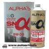 Масло моторное SUMICO (ALPHAS) 5w30 SN/GF-5 4л (синтетика)