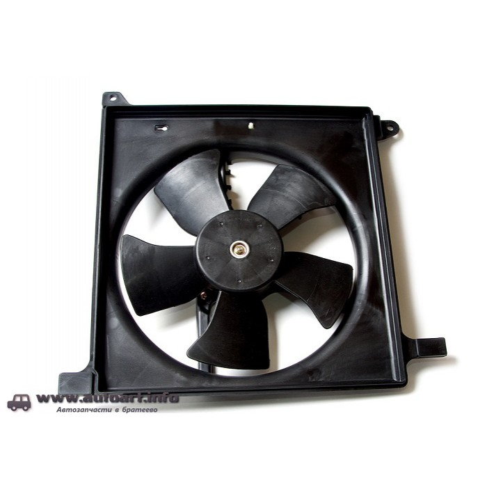 ремонт мотора вентилятора охлаждения нексия фон, Черно