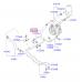 Шланг (трубка) высокого давления гидроусилителя руля Хендай Портер Тагаз